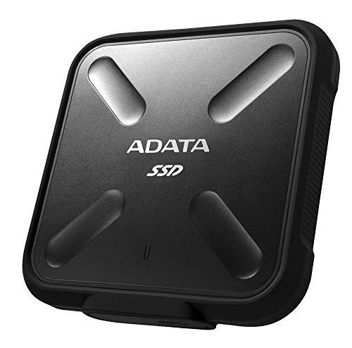 ADATA SD700 External SSD 1TB, Black,...