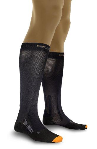 X-Socks Trekking Energizer, Calze Uomo, Nero, 39/41