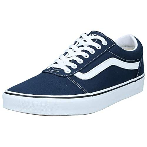 Vans Ward, Sneaker Uomo, Blu ((Canvas) Dress Blues/White Jy3), 42 EU
