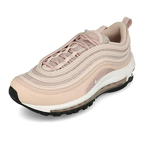 Nike Womens W AIR MAX 97 Running Shoe, Barely Rose/Barely Rose-Black, 40 EU