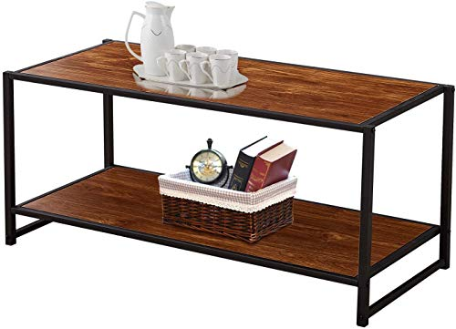 Table basse rectangulaire style industriel