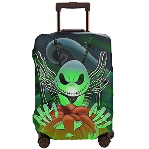 Travel Luggage Cover Nightmare Before Christmas Jack Pumpkin Suitcase Protector Washable Baggage Covers 18-32 Inch