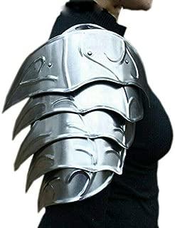 LARP Medieval Elf Fantasy Costume Galadriel Hobbit Elven Steel Armor Shoulders