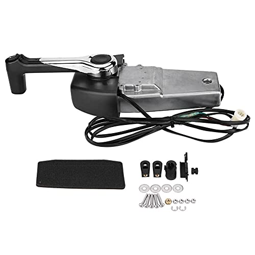 ZOYAN for Yamaha Push Marine Outboard Engine Control Box 704-48205-P1 Single Binnacle
