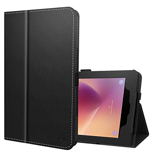Ztotop Case for Samsung Galaxy Tab A 8.0 Inch 2017 Release for SM-T380/T385, Folio Leather Tablet Cover with Auto Wake/Sleep Feature,Black