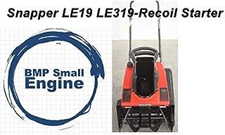 BMotorParts Recoil Pull Start Starter for 3HP Snapper LE3190E LE3190R LE19 LE319 SnowBlower