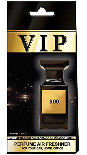 3X Caribi VIP Auto Lufterfrischer Parfüm HEIM BÜRO Duft ähnlich wie teures Parfüm №800