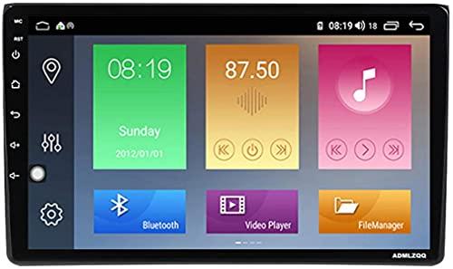 9 Pulgadas Android 10.0 Car Stereo Radio Multimedia para Audi A4 2002-2008, Navegación GPS/Bluetooth/FM/DSP/Control del Volante/Cámara Trasera / 4G + WiFi
