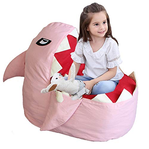 Towels /& Clothes Household Supplie Unicorn Stuffie Animal Toy Storage Bag Large Size Storage Bean Bag Cover 24x24 Inch Velvet Extra Soft Stuffie Organization Replace Mesh Toy Hammock for Kids Toys Blankets