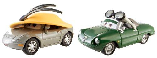 Mattel BDW86 – Disney Cars Lot de 2 modèles : Kimberly Rims et Carinne Cavvy