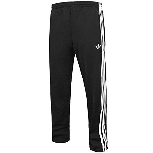 adidas Firebird - Pantalones de Running para Hombre, Color Negro, Talla S