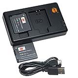 DSTE 2PCS NB-11L NB-11LH(1400mAh/3.7V) Batería Cargador Compatible...