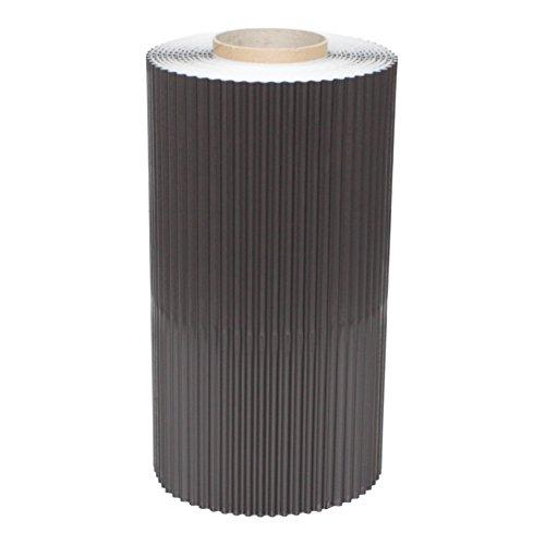 WK-Alu-Flex - plissiert, Wand- und Kaminanschlussband, Rollenlänge: 5 m, Breite: 300 mm, Farbe: Braun