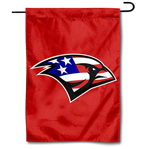 College Flags & Banners Co. Incarnate Word Cardinals Patriotic Garden Banner Flag