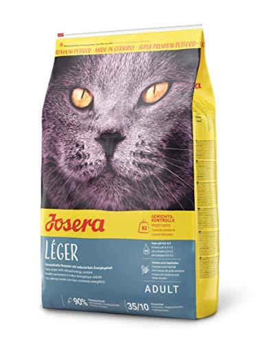 Josera Léger Super Premium Kattenvoer, met Weinig Vet, tegen Overgewicht, voor Gesteriliseerde Katten, 10 kg Zak