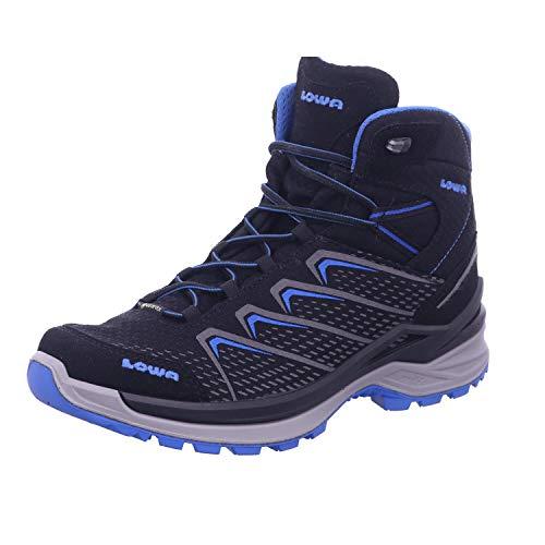 Lowa Ferrox Pro GTX Mid Men Größe UK 10,5 schwarz/blau