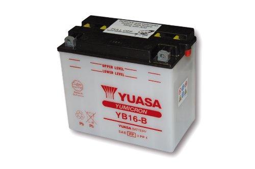 Motorize-YUASA Batterie YB 16-B ohne Säurepack