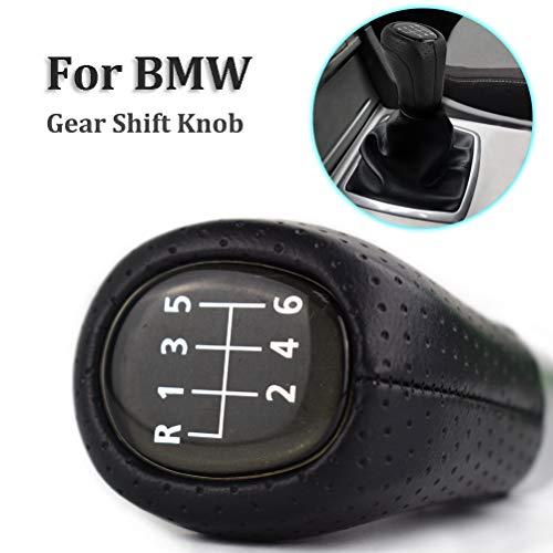 XUKEY 6 Geschwindigkeit pu Leder schaltknauf Kopf Stick Shifter hebel Stift Griff Handball für 1 3 Series E81 E82 E87 E88 E90 E91 E92 E93