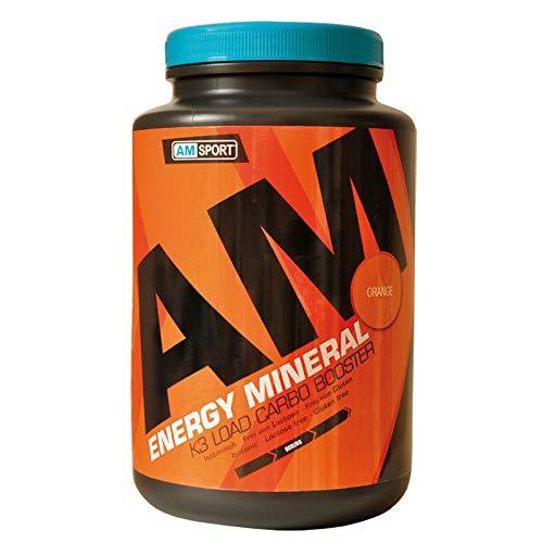 AMSPORT® Energy Mineral Orange 1700g, isotonisches Getränkepulver mit Elektrolyten und Vitaminen