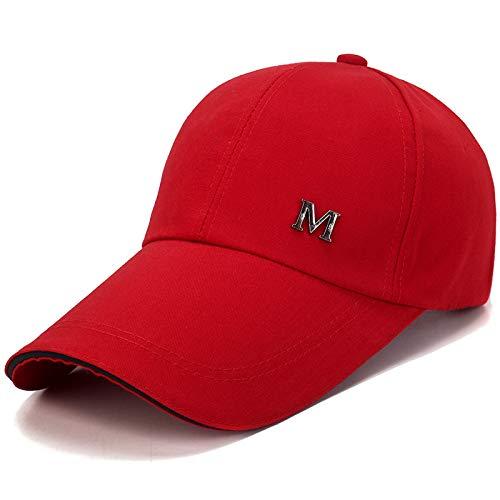 wopiaol Nouveau Printemps et été Casquette de Baseball pour Hommes coréen Casquette de Loisirs en Plein air Chapeau de Soleil Chapeau de Soleil d'été