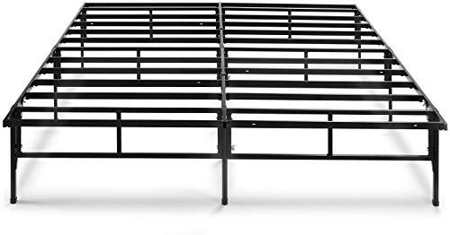 Zinus (ジヌス) ベッド フレーム ダブル 高さ36cm 簡単組立て Easy to Assemble SmartBase 工具入り 収納スペース 【日本正規品】