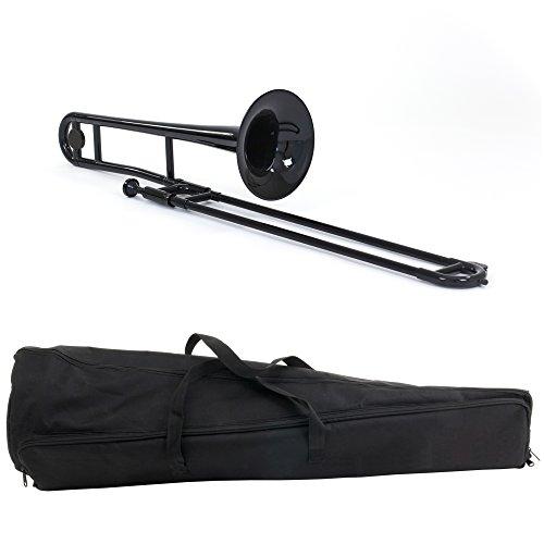 Estella PTB100BK Bb Plastic Trombone, Black