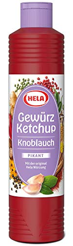 Hela Knoblauch Gewürz Ketchup 800 ml (1 x 800 ml)
