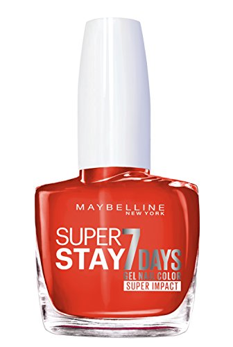 Maybelline Nonstop Orange Superstay 7 Days Nagellack