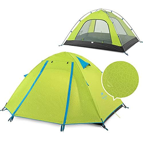 Naturehike P-Series Tent, Unisex, Naranja, Talla única