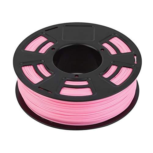 One Roll 1KG 1.75mm ABS Filamento Impresora 3D Material de impresión Suministros Rollo Adecuado para Impresora 3D Pluma Impresora 3D (rosa) Jasnyfall