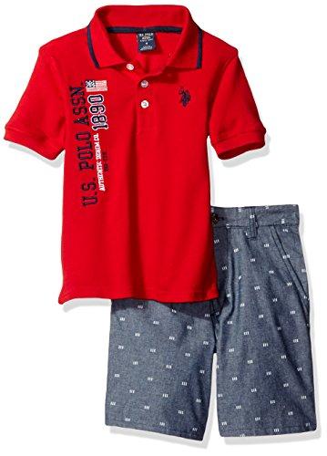 U.S. Polo Assn. Boys' Little Iconic…