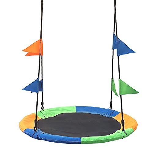 Altalena da Giardino a Nido Grande Altalene sottovaso da 100 cm per bambini all'aperto, Altalena esterna con kit cinghie per appendere, Ottimo per l'altalena del parco giochi, il cortile e la sala gio