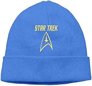 Wow(2-2) Unisex Star Trek Insignia Logo Skull Beanie Winter Cap Hat