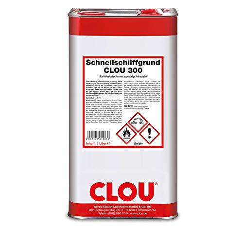 CLOU 300 Schnellschliffgrund 3 Liter