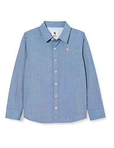 Garcia Kids Jungen U05430 Hemd, Yale Blue, 104/110