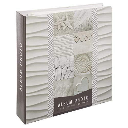 WEB2O - Álbum de fotos (tamaño grande, 500 fotos, 10 x 15 cm), diseño de conchas