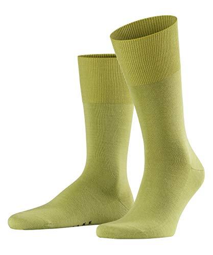 FALKE Herren Socken Airport, Merinowolle/Baumwollmischung, 1 Paar, Grün (Lime 7126), Größe: 43-44