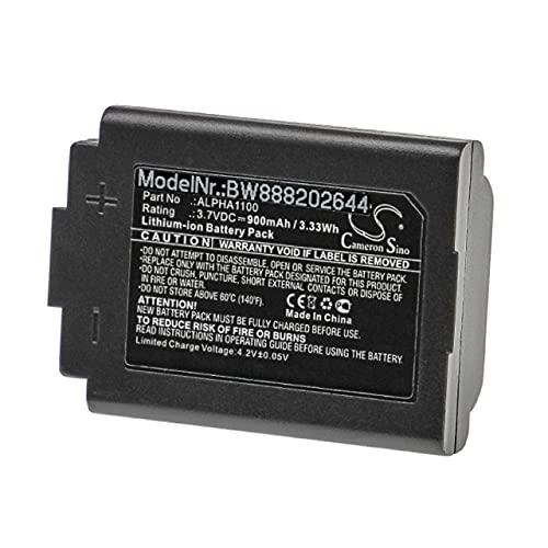 vhbw Batería Recargable reemplaza 3M ALPHA1100 para Auriculares inalámbricos, Cascos (900 mAh, 3,7 V, Li-Ion)