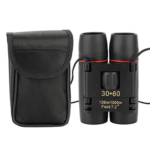 30x60 Mini Zoom High Definition Fernglas, tragbares faltbares Taschenfernglas für die Jagd im Freien, Vogelbeobachtung