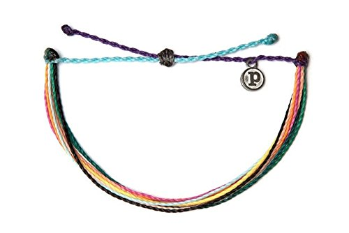 Pura Vida Hakuna Matata Single Bracelet - Handcrafted - 100% Waterproof Wax Coated Accessories