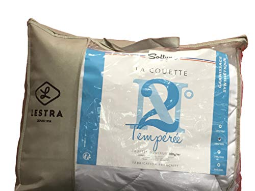 Lestra Couette, Coton, Blanc, 240cmX260cm