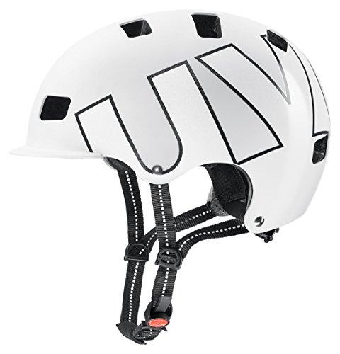Uvex HLMT 5 Bike Pro BMX Dirt Fahrrad Helm weiß/schwarz 2018: Größe: 58-61cm