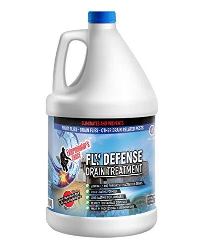 Exterminators Choice Drain Gel Fruit Fly Cleaner One Gallon