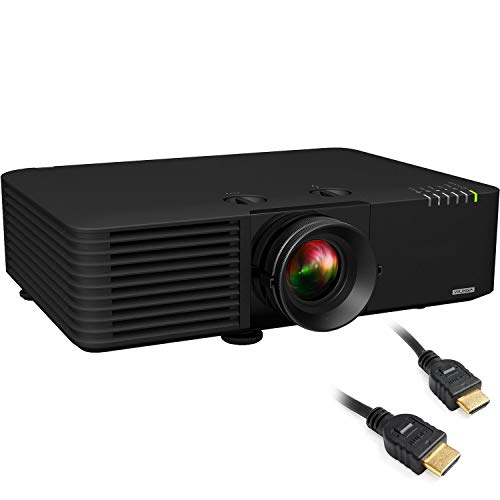 PowerLite L615U Wireless WUXGA 3LCD Projector with Two 6ft HDMI Cable Bundle