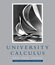 University Calculus, Part One (Single Variable, Chap 1-9) Value Package (includes Student's Solutions Manual Part One for University Calculus)