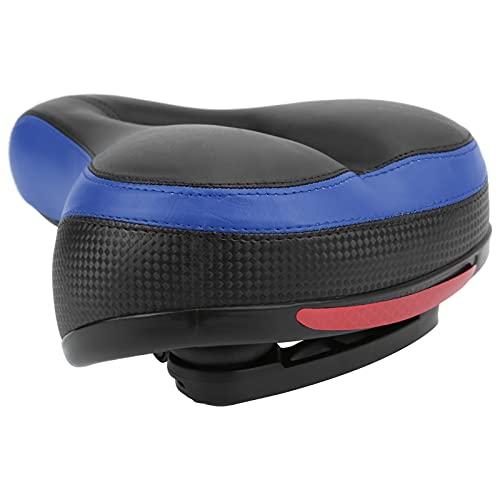 Voluxe Asiento de Bicicleta, Asiento de Bicicleta [Trekking] con diseño Hueco para Montar(Azul Oscuro)
