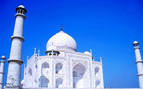 ZXXGA Kit De Cuadro De 5D_Taj Mahal Diamond Painting Kits 30x40cm_Taladro Completo Diamante Bordado Kit para decoración de la Pared del hogar