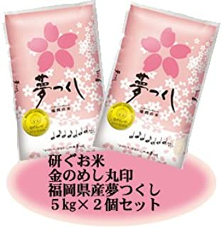 藤食糧 研ぐお米 金のめし丸 福岡県産夢つくし 10kg(5kg×2袋)
