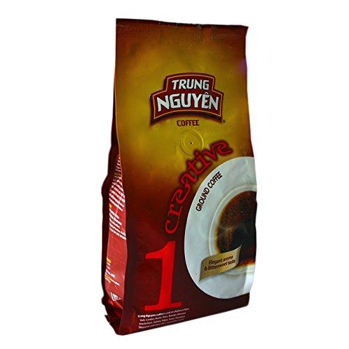 8x250g Trung Nguyen Vietnam Kaffee Creative 1 Culi Robusta gemahlen