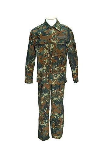 Feldanzug nach TL der Deutschen Bundeswehr Feldbluse + Feldhose flecktarn in verschiedenen Farben (20)